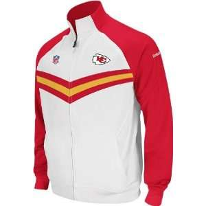 Reebok Kansas City Chiefs Sideline Player Travel Jacket