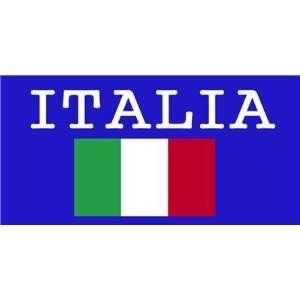 Flag WORLD CUP ITALIA Soccer Team Large Beach / Bath Towel