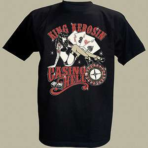 King Kerosin T Shirt  Casino Hell