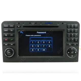 05 11 Mercedes Benz R300 Car GPS Navigation Radio TV Bluetooth USB