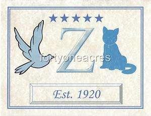 MASCOT Series   Zeta Phi Beta Print   Est. 1920