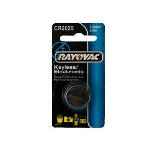 10 x CR2025 Rayovac 3 Volt Lithium Coin Cell Battery Electronics