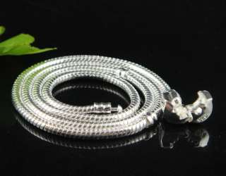 Best New 10PCS Snake Necklace Chains Fit Charms 18