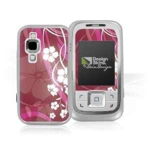 Design Skins for Nokia 6111   Pink Flower Design Folie