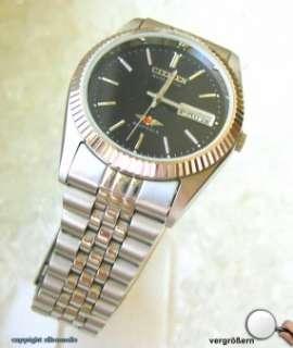 Hau Armbanduhr Uhr Uhren Citizen Automatic Edelstahl Herren Sammleruhr