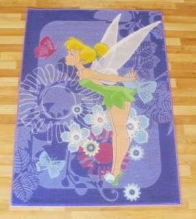 NEU Kinder Teppich DISNEY FAIRIES Tinkerbell lila 95x133cm