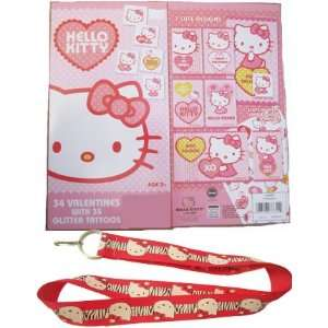 School Valentines Cards  Lanyard and Tattoos Included