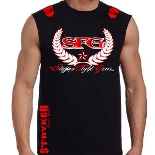 Muscle T Shirt Top MMA Tapout UFC Brazilian Jiu Jitsu Tee w *