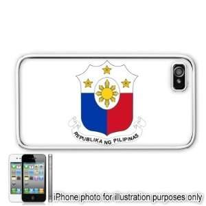 Philippines 3 Flag Apple Iphone 4 4s Case Cover White