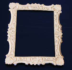Rose Gold Foil Paper FRAME Victorian Scrap Art Die Cut Dresden Card