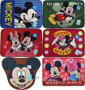 Disney Mickey Mouse Bath Mat Floor Rug Non Slip Choose