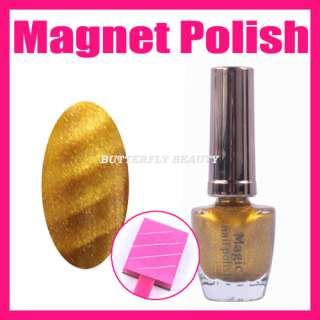 Nail Art 40 Fashion Color Magic Magnetic Magnet Nail Polish Magnet