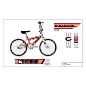 Georgia Bulldogs 16 inch Preschool Bike: Sports & Outdoors