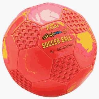 Balls Sport Specific   Fun Gripper 8 Soccer Ball   Red Sports