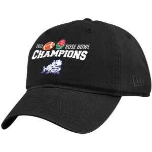 New Era Texas Christian Horned Frogs Black 2011 Rose Bowl
