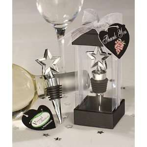 Vineyard Collection Star Design Wine Stoppers (Set of 72