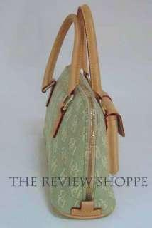 Dooney & Bourke Anniversary Small Domed Pocket Satchel Bag Purse Green