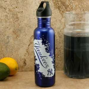 New York Yankees 26oz. Royal Blue Stainless Steel Water Bottle