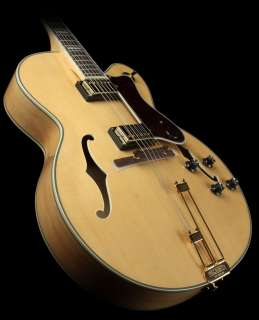 Epiphone Broadway Archtop Electric Guitar Rosewood Fretboard Natural