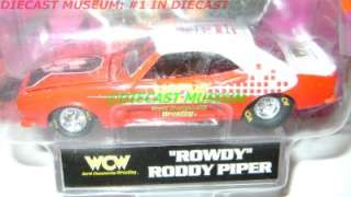 1968 68 CHEVY CAMARO ROWDY PIPER WCW DIECAST RARE