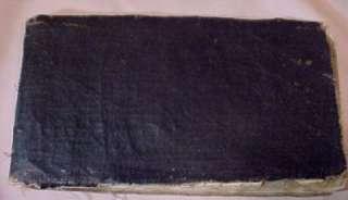 Rare Black American Slave Song Poetry Handwritten Book