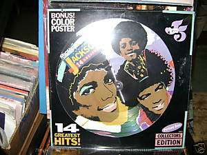 Michael Jackson Jackson 5 Picture Disc circa 1984 SS