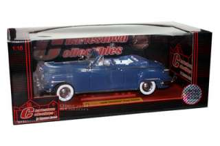 1948 CHRYSLER NEW YORKER COUPE CONVERTIBLE 1/18 BLUE