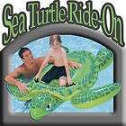 Intex Sea Turtle Ride On Inflatable Kid Swimming Pool Float Tube