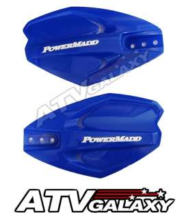 PowerMadd Power X Handguards BLUE ATV Hand Guards Yamaha Raptor 660