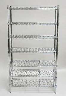 NEW 7 Shelf Metal Commercial Wine Bottle Storage Rack