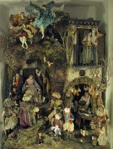 LABORATORIO LA SMORFIA OSTERIA nativity PRESEPE NAPOLETANO