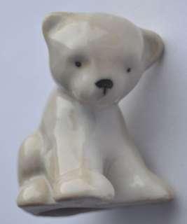 USSR Russian Porcelain Polar Bear Cub UMKA Figurine