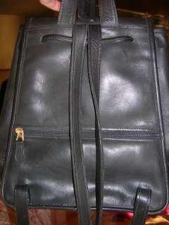 Large Coach Purse Handbag Messenger Shoulder School BackPack Bag Black