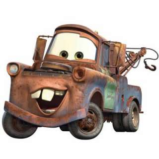 RoomMates Cars Mater Peel and Stick Giant Wall Decal RMK1519GM at The