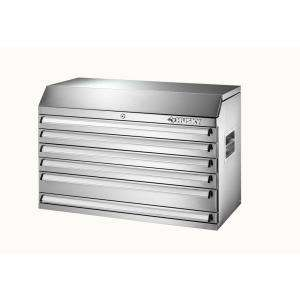 Husky36 in. 5 Drawer Stainless Steel Tool Chest DISCONTINUED