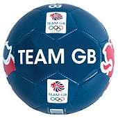 Olympics Blue Lion Team GB Football Size 5