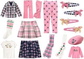 GYMBOREE SMART GIRLS RULE pants top skirt skort UPIC