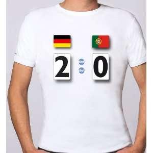 dot shirt EM 2012, das Fußball Fan Set mit System T Shirt Gr.XS weiß