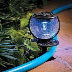 Multi Colored Solar Powered Hose Guide   375094