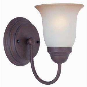 Commercial Electric Nutmeg 1 Light Sconce EFH1311M