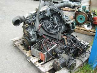 Mitsubishi 6 Cyl Diesel Engine for Parts