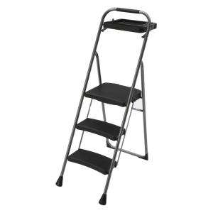 Tread Non Slip Folding Step Ladder Kitchen Stool New