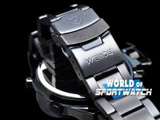 WEIDE New Blue Analog Led Day Date Sport Watch Men