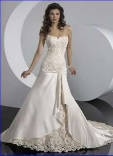 different styles bride gown wedding dresses embroidered sequins