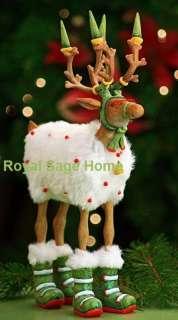 Patience Brewster Krinkles Dash Away Blitzen Reindeer