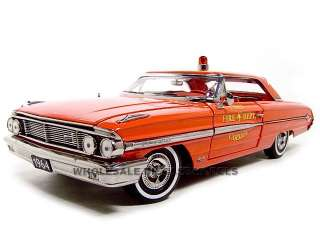1964 FORD GALAXIE 500 XL CARMEL FIRE CHIEF 1:18 MODEL