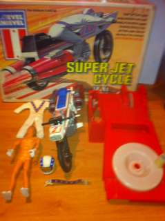 Evel Knievel Super Jet Cycle Ideal Complete Boxed With Figure 3452 0