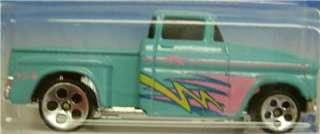 1956 FLASHSIDER TRUCK DIECAST HOT WHEELS 164