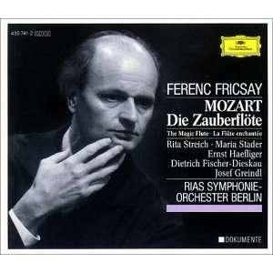 Mozart Die Zauberflöte (Gesamtaufnahme) Streich, Stader, Fricsay