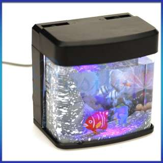 USB Desktop Decoration Mini Christmas Aquarium Gift Magic LED Light